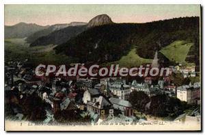 Old Postcard Le Mont Dore Vue Generale capuchin