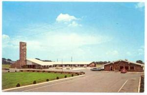 Capri Motel & Restaurant,  Perry,Georgia, 40-60s