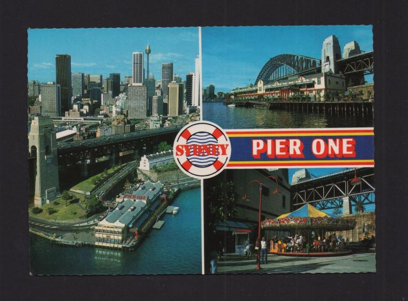 POSTCARD 1970years AUSTRALIA PIER ONE SYDNEY NEW SOUTH WALES z1
