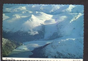 AK Portage Glacier Prince William Sound Turnagain Arm Alaska Whittier Postcard