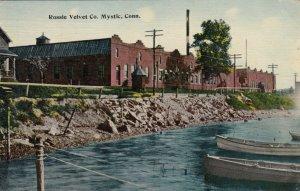 MYSTIC , Connecticut, 1914 ; Rossie Velvet Company