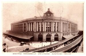 Massachusetts  Boston , South Terminal Station