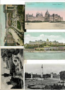 Hungary Budapest Postcard Lot of 9 01.13