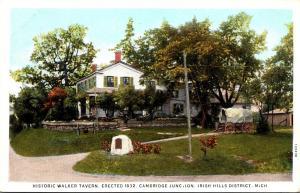 Michigan Irish Hills Historic Walker Tavern Erected 1832 Cambridge Junction