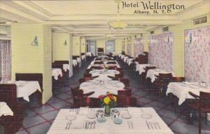 New York Albany Hotel Wellington Dining Room