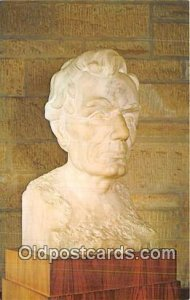 Bust of Abraham Lincoln Sculptor EH Daniels Unused