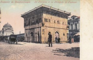 Constantinople (Istanbul) , Turkey , 1900-10ss ; La Fontaine et la Mosquee de...