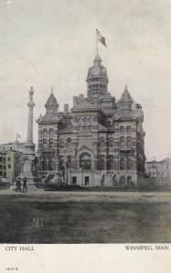 WINNIPEG , Manitoba , Canada , 1907 ; City Hall