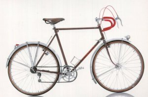 Charrel French 1948 Bicycle Bike Cycle Postcard