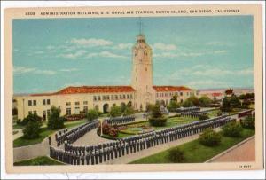 Admin Building, US Naval Air Station, North Island, San Diego, CA