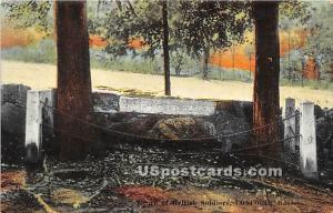 Grave of British Soldiers Concord MA Unused