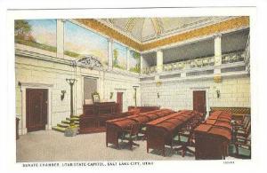 Interior- Senate Chamber, Utah State Capitol, Salt Lake City, Utah, 1910-1920s