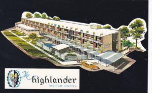 Canada Highlander Motor Hotel Calgary Alberta