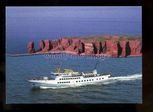 FE2523 - German Ferry - Funny Girl , built 1973 - postcard