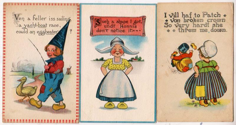 3 - Dutch Children Cards