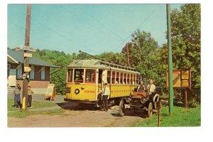 Sprague Memroial, Branford Trolley Museum, Connecticut, Antique Ford Car, Train
