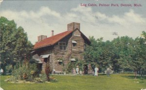 DETROIT, Michigan, 1910 ; Log Cabin, Palmer Park