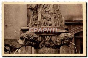 Old Postcard Forcalquier Fontaine Saint Michel