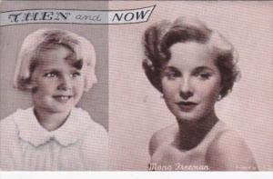 Vintage Arcade Card Mora Freeman Then and Now
