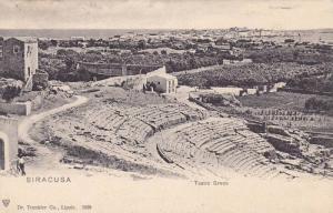 Teatro Greco, Siracusa (Sicily), Italy, PU-1904