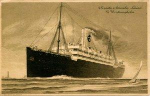 Svenska Amerika Line - SS Drottningholm