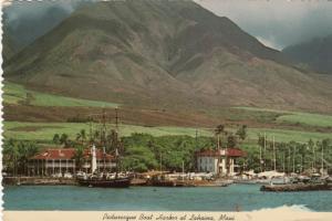 LAHAINA, Maui, Hawaii, 1979; Pictoresque Boat Harbor