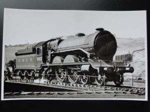 LNER Steam Locomotive COCK O' THE NORTH No.9903 on TURNTABLE RP Photocard