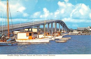 Paradise Bridge Nassau, Bahamas Virgin Islands Unused