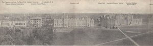 WASHINGTON DC, 1900-10s ; Catholic University , Tri-fold Postcard