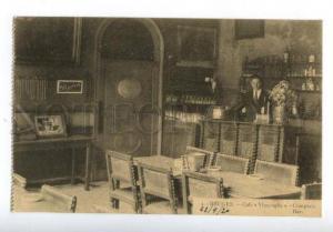 158299 Belgium BRUGES Cafe Vlissinghe Bar ADVERTISING Vintage