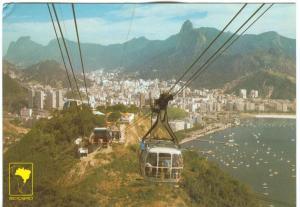Brazil, Brasil, Rio de Janeiro, Panorama, unused Postcard