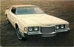 Advertising, 1972 Ford Thunderbird 2 Door Hardtop in White, Creative Associates