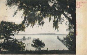 BAY ST LOUIS , Mississippi, 1907 ; Bath Houses
