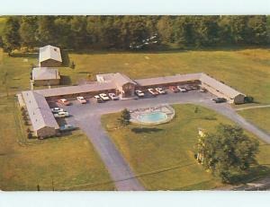Unused Pre-1980 OLD CARS & EASTWOOD MOTOR LODGE MOTEL Kent Ohio OH s5736@