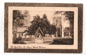 WENDOVER, England, PU-1910; The Lych Gate, St. Mary's Church