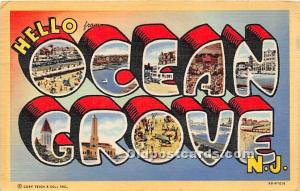 Ocean Grove, New Jersey, NJ, USA 1948