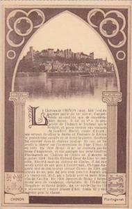 France Chinon Le Chateau de Chinon