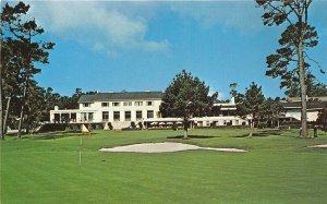 Pebble Beach California 1960s Postcard Del Monte Lodge Golf Course