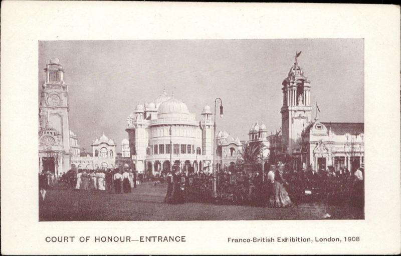 Court of Honour entrance Franco-British Exhibition London 1908