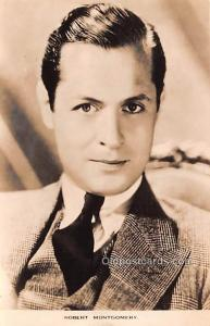 Robert Montgomery Movie Star Actor Actress Film Star Postcard, Old Vintage An...
