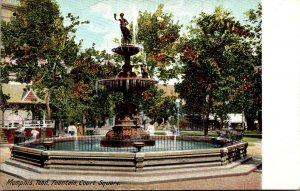 Tennessee Memphis Court Square Fountain