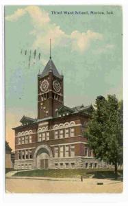 Third Ward School, Marion,  Indiana,PU-1912