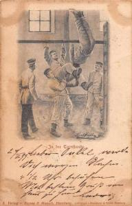 Germany Military? Training Gymnasium Antique Postcard J77605