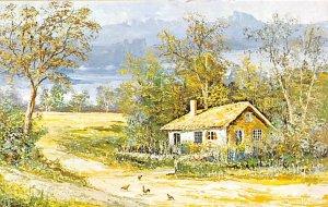 Countryside Morris Katz Painting Unused