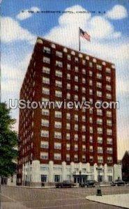 WM. R. Barringer Hotel in Charlotte, North Carolina