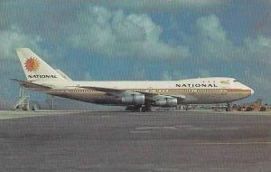 NATIONAL AIRLINES BOEING 747-135