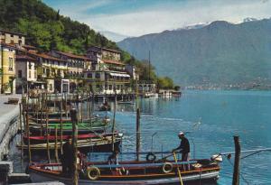 LAGO D´ISEO , Italy , 1991 ; Il caratteristico porto di Peschiera