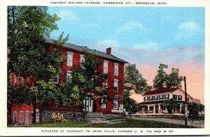 Michigan Brooklyn Cambridge Junction Historic Walker Tavern