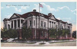 GUTHRIE, Oklahoma, 1900-10s; Masonic Temple