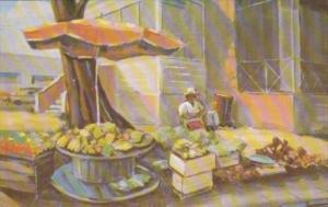 Barbados Native Fruit Vendor